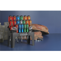 44pc Screwdriver Hex Key & Bit Sets